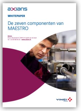 De zeven componenten van MAESTRO leaflet